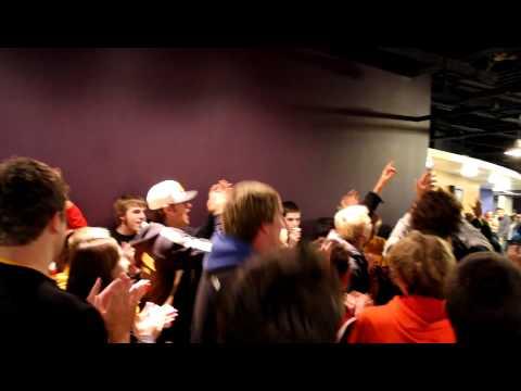 University of Wisconsin-Oshkosh Homecoming Blackhawk Flashmob