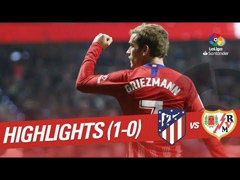 Resumen de Atlético de Madrid vs Rayo Vallecano (1-0)
