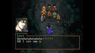 Suikoden 2 - Defeat Luca Blight in 1 turn with all 3 parties