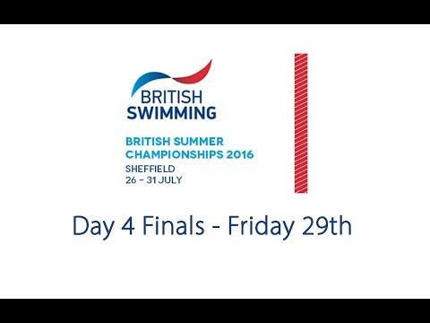 Day 4 Finals - British Summer Championships 2016