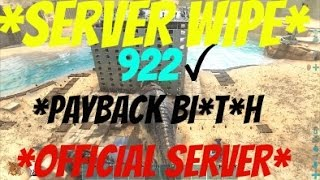 Ark Survival Evolved Raiding Official Server 922 - Ark Official Server Wipe - PVP Raiding Official