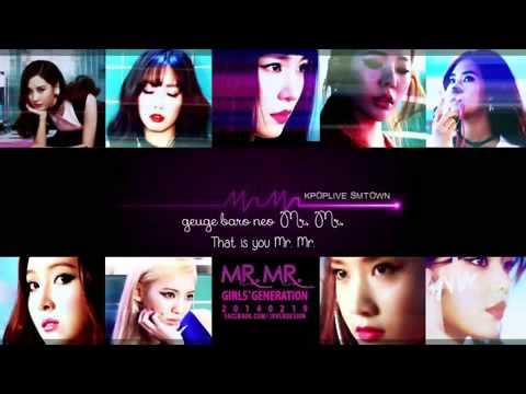 Girls' Generation SNSD Mini Album 'Mr Mr ' mp3 + download link