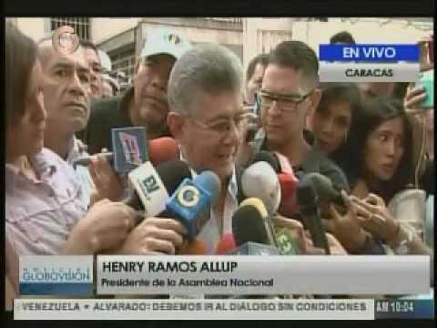 Henry Ramos Allup Toma de Venezuela