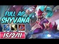 AP SHYVANA JUNGLE | New Build & Runes | Diamond Super Galaxy Shyvana | League of Legends | Season 9