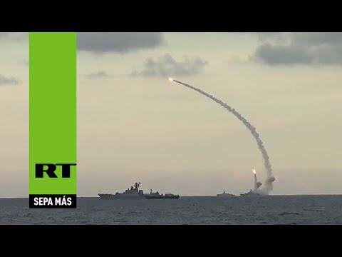 (video) SIRIA: RUSIA ATACA AL ESTADO ISLÁMICO CON MISILES CRUCERO DESDE EL MAR CASPIO