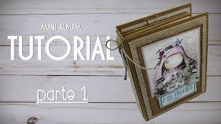 Tutorial   Scrapbooking Album - Mis Recetas - PARTE 1/4 - ESTRUTURA - colaboração LTM