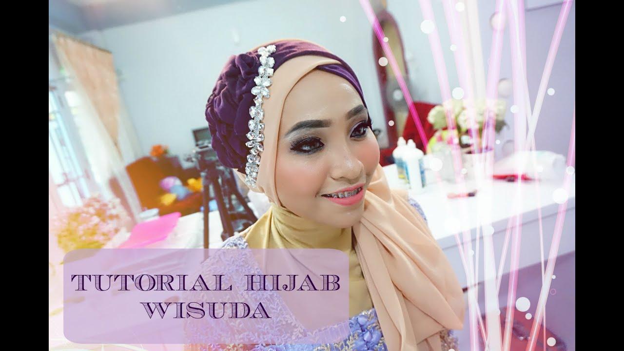 Tutorial Hijab Wisuda Graduation 2 Warna 2016 Alyn Devian AD8