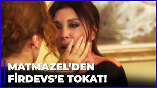 Matmazel, Firdevs Hanıma TOKAT ATTI - Aşk-ı Memnu 29.Bölüm