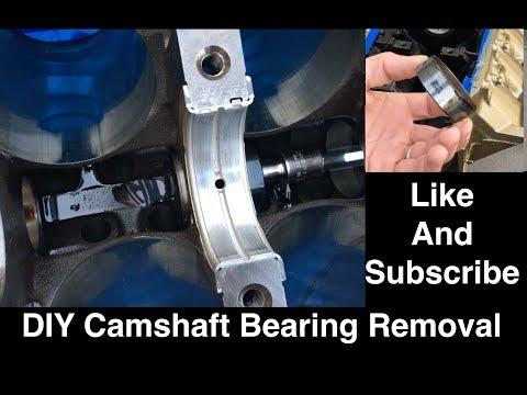 DIY Camshaft Bearing Removal on the 350 Oldsmobile Engine