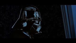 Vader finds out Luke is his son in Star Wars A New Hope Edit