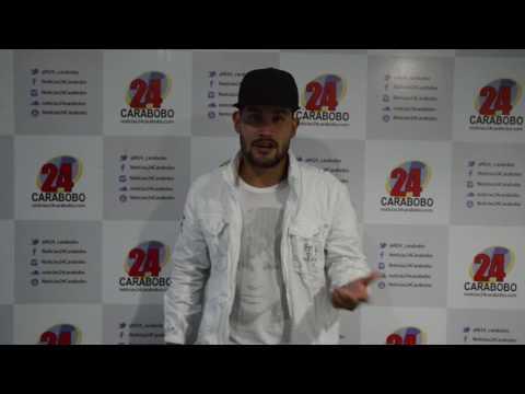Royn presenta a Noticias24 Carabobo su tema Si me permites