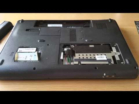 How to Install a Laptop Hard Drive (HDD) - HP Presario CQ60