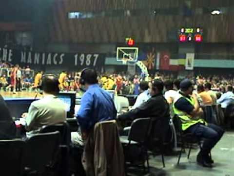 Bosnia vs Macedonia basketball 2005 Eurobasket qualifing game