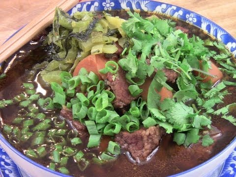 Taiwanese Beef Noodles Soup (1/2)