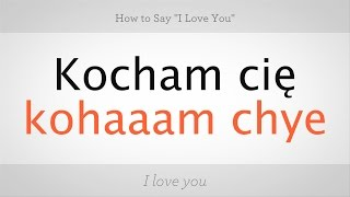 """Gambar cover How to Say """"I Love You"""" in Polish 