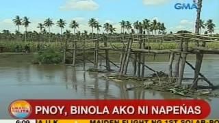 UB: PNoy: Binola ako ni Napeñas