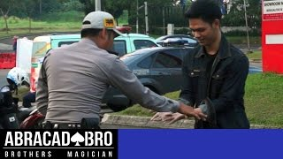 Sells Drugs To Cop Magic Prank - abracadaBRO Dangerous & Best Street Magic Tricks Indonesia