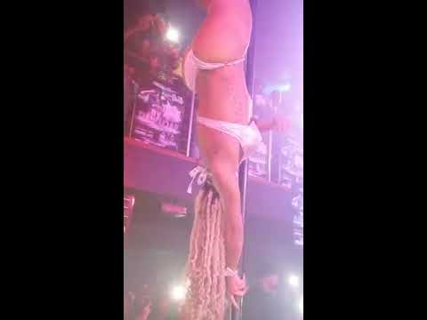 Pole Assassin at Club Adriannas!!! SHE KILLED IT!!