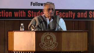 Distinguished Lecture by Shri Gulzar
