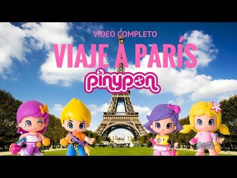 El viaje a París de Pinypon COMPLETO
