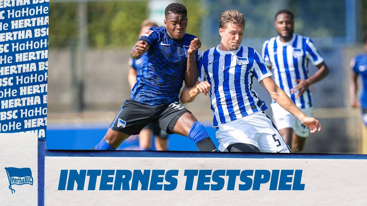 Tore Tore Tore 5 Treffer Beim Internen Testspiel Hertha Bsc Youtube