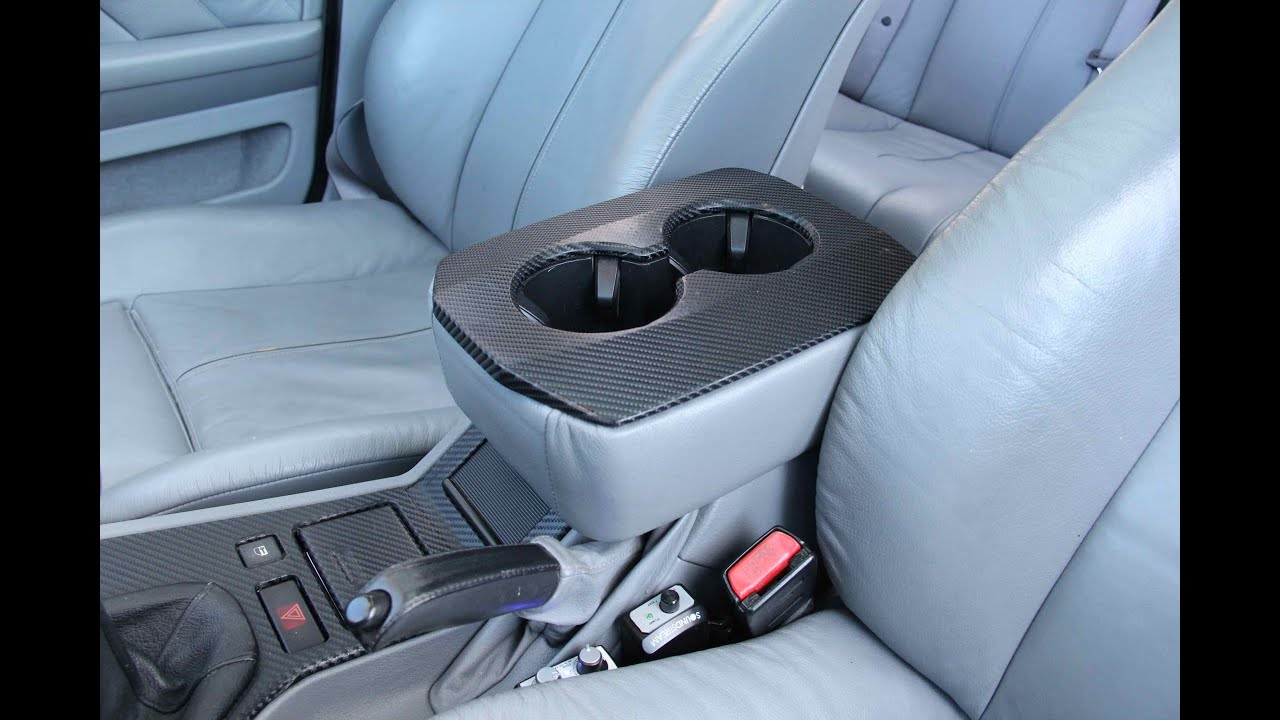 bmw custom cup holder mount youtube. Black Bedroom Furniture Sets. Home Design Ideas