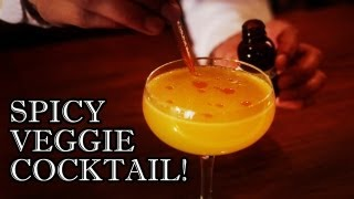 Chili Pepper Tequila & Mezcal Cocktail - Behind The Drink