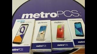 My top 5 metroPCS smartphones, range Price 29$-98$ in 2017