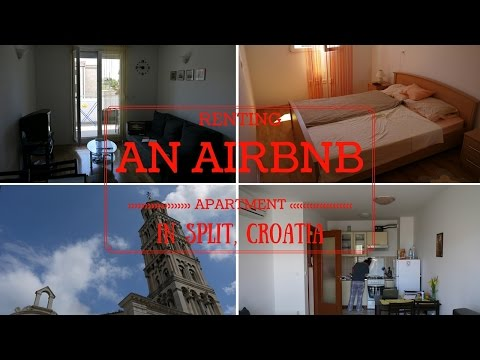 Renting an Airbnb Apartment in Split, Croatia - Weekly Travel Vlog 1