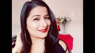 Easy Makeup Tutorial With Classic Red Lips | Prettify By Surbhi