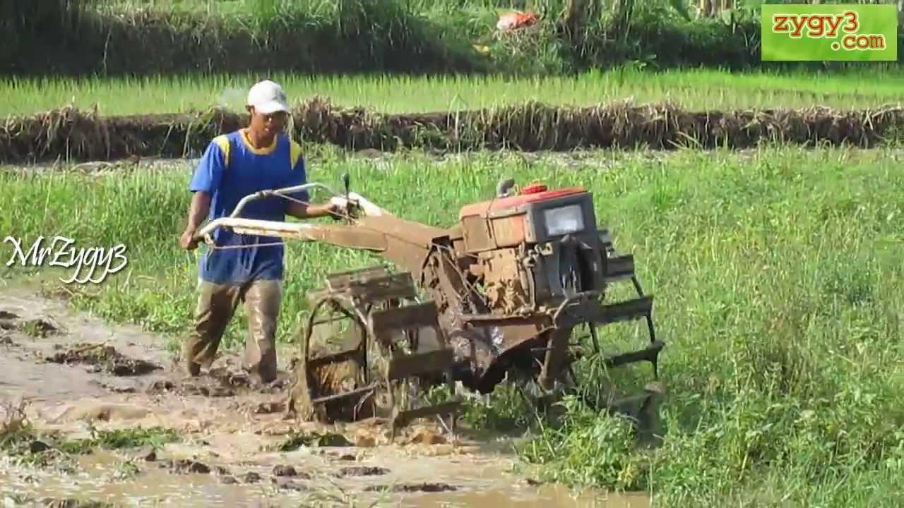 Yanmar Tractor 2 Wheel : Two wheel tractor yanmar diesel engine plowing youtube