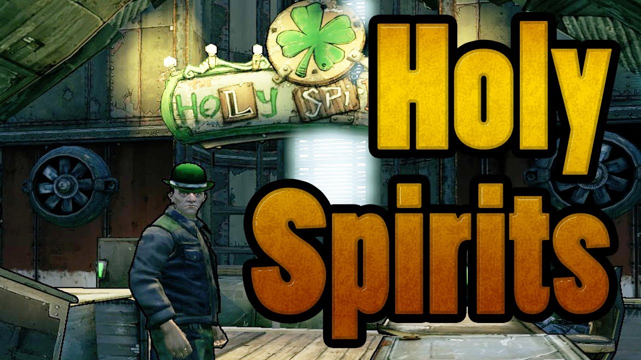 Borderlands 2 Holy Spirits All Challenges Cult Of The Vault Youtube