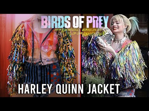 Making My Harley Quinn Birds Of Prey Jacket Youtube