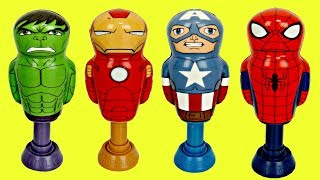 AVENGERS Superhero Power Poppers with Toys Unlimited