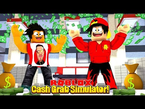 ROBLOX - THE CASH GRAB SIMULATOR!!