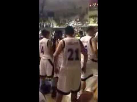 COC- Phinma  vs XU ( Ateneo de Cagayan ) Brawl ! ( COSAA GAME ) August 21 , 2013