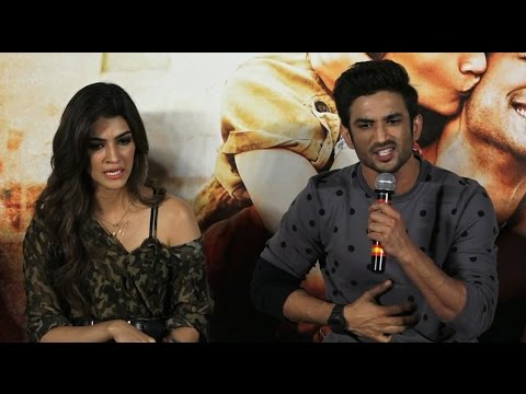 Thumbnail: Sushant Singh Rajput defends Kriti Sanon and gets into an argument with a journalist