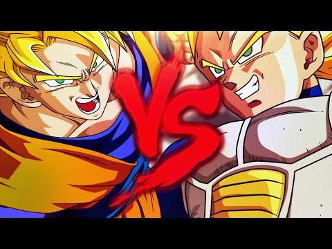 Goku VS. Vegeta   Duelo de Titãs