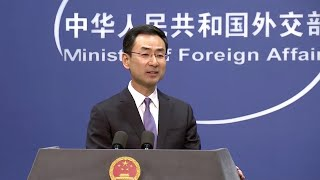 China's MOFA: COVID-19 origin is a matter for science