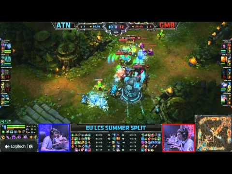 Alternate (ATN) vs Gambit Gaming (GMB) || Moscow Russia EU LCS Summer 2013 W2D1 || Full   Game HD