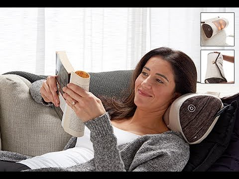 roll up massage cushion sharper image