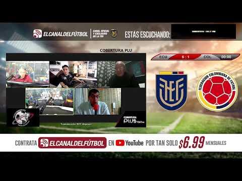 (MODO RADIO) ECUADOR VS COLOMBIA - Eliminatorias Sudamericanas