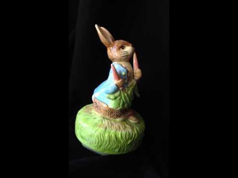 Peter Rabbit Music Box Beatrix Potter