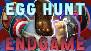 GETTING ALL THE AVENGERS EGGS AND THE INFINITY GAUNTLET (ROBLOX Egg Hunt 2019)