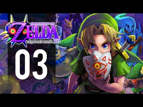 The Legend of Zelda: Majora's Mask 3DS - Part 3 - Bomb Mask (Gameplay Walkthrough)