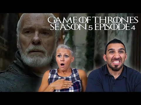 Game of Thrones Season 5 Episode 4 Sons of the Harpy REACTION!!