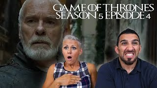 Game of Thrones Season 5 Episode 4 'Sons of the Harpy' REACTION!!