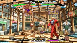 Android DreamCast Emulator ReiCast Capcom VS. SNK Millennium Fight 2000 Pro Game Play