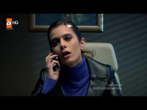 Polat ve Leyla Romantik Konuşma / Polat Leyla'yı Uyarıyor!! FULL HD