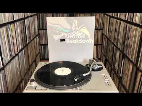"""Various """"Detroit Beatdown Volume One"""" Full Triple Vinyl Album"""